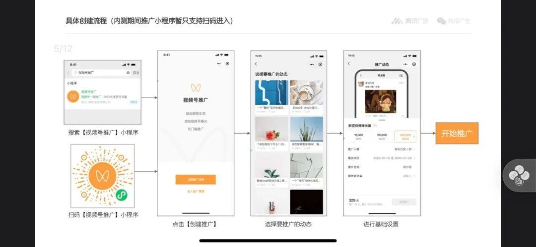 """新消息,微信内测""""视频号推广""""功能"""